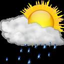 Βροχές κατά τόπους