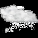 Έντονη Χιονόπτωση